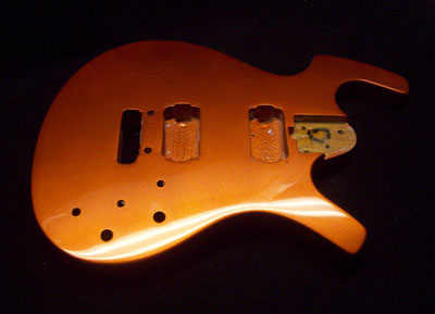 Orange Firemist Metallic Guitar