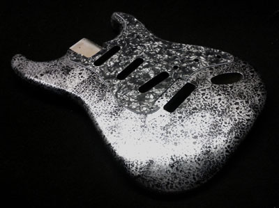 Silver Decay Guitar