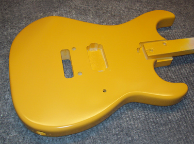 Bright Yellow Guitar
