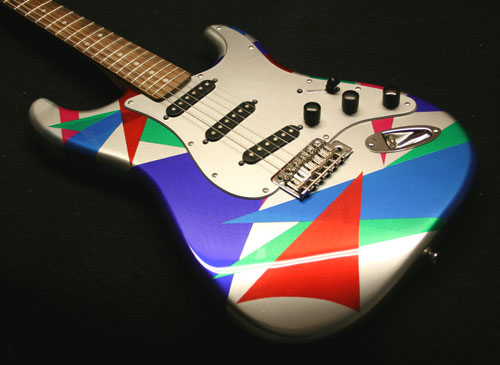 GuitarPaintGuys Isoceles Custom Front