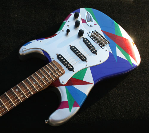 GuitarPaintGuys Isoceles Custom Front 2