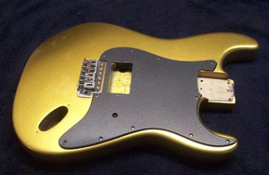 Egyptian Gold Metallic Guitar