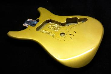 Kandy Lime Gold Guitar
