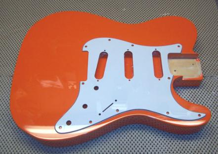 Racing Orange Telecaster Guitar