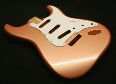Autumn Frost Metallic Guitar