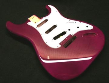 Grape Fire Guitar