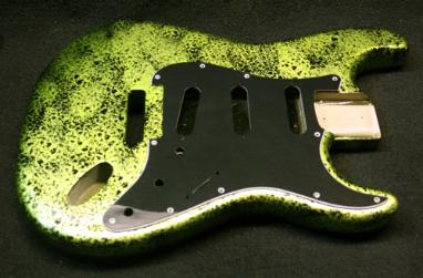 Lime Decay Guitar