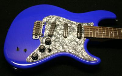 Marine Blue Guitar