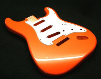 Nova Orange Metallic Guitar