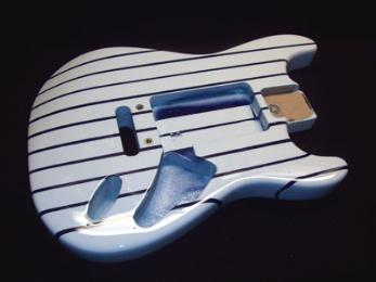 Pin Stripe Guitar