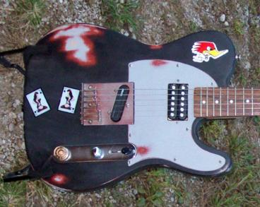 Rat Rod Finish Guitar