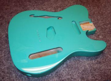 Sea Foam Green Guitar