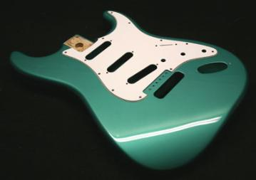 Sherwood Green Guitar