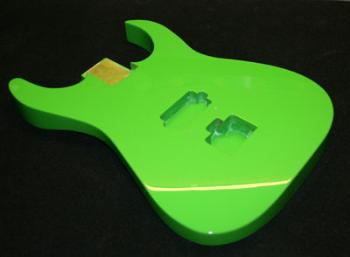 Sublime Green Guitar